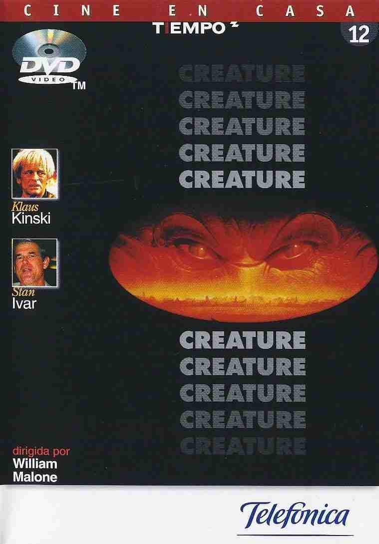 Creature (TIEMPO) DVD
